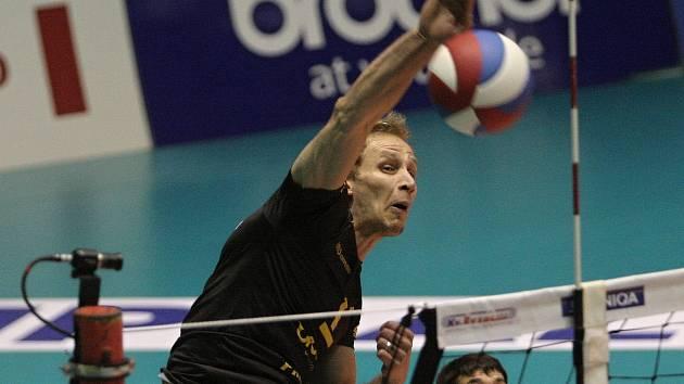 Michal Hrazdira z Volejbalu Brno.