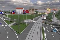 První práce na přeložení tramvaje do Plotní ulice uzavřou Dornych. Na rok.