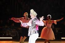 V brněnském Rondu mohli zájemci zhlédnout muzikál Popelka na ledě.