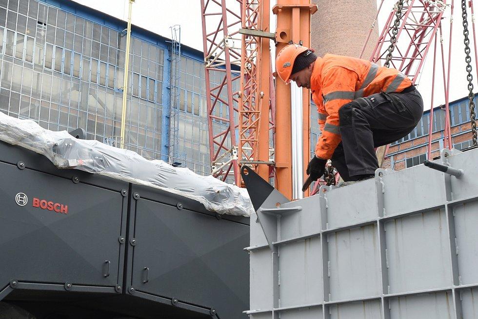 Teplárny Brno mají dva nové moderní kotle.
