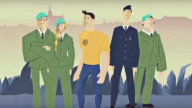 Univerzita obrany láká studenty novým klipem.