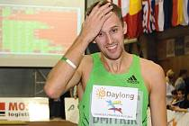 Osmý ročník atletického mítinku Hustopečské skákání - výškař Aleksej Dmitrik.