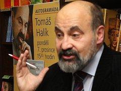 Tomáš Halík podepisoval své knihy.