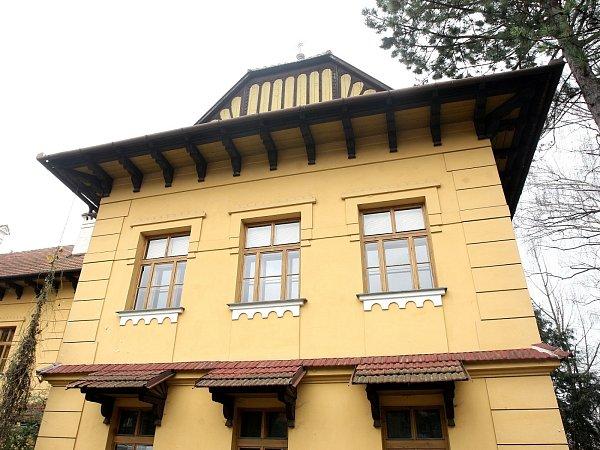 Bývalá střední zahradnická škola vbrněnských Bohunicích.