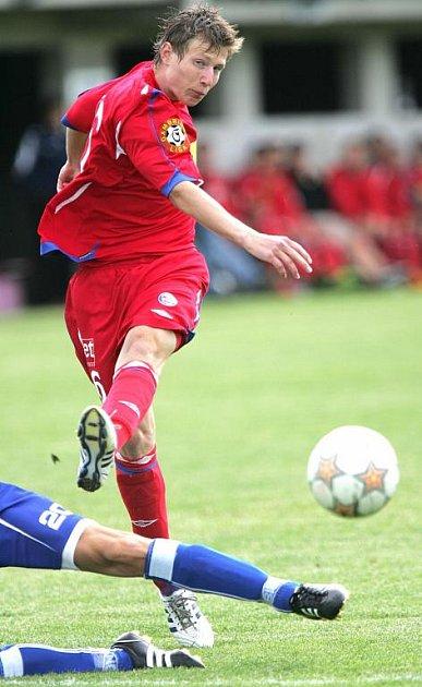 Nový objev 1. FC Brno Lukáš Michna.