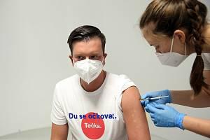 Očkovat bez registrace se dá také v prostorách bývalé restaurace Bohéma v Janáčkově divadle.