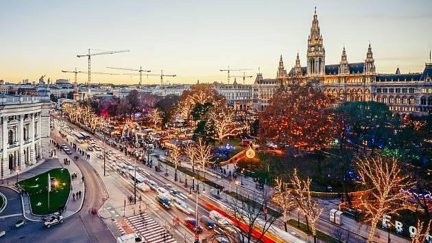 Vánoce ve Vídni začaly.