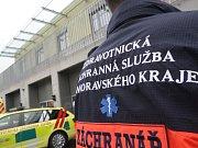 Základna záchranářů v Černovicích.