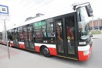 Brněnský trolejbus.