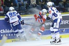 Kometa zmrazila Pardubice ve třetí třetině a po obratu zvítězila 5:4