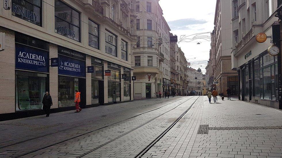Centrum města Brna. Ilustrační foto.