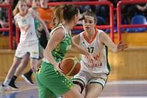 Ilustrační foto. Na snímku Šoukalová (Ž) a Beránková (KP).