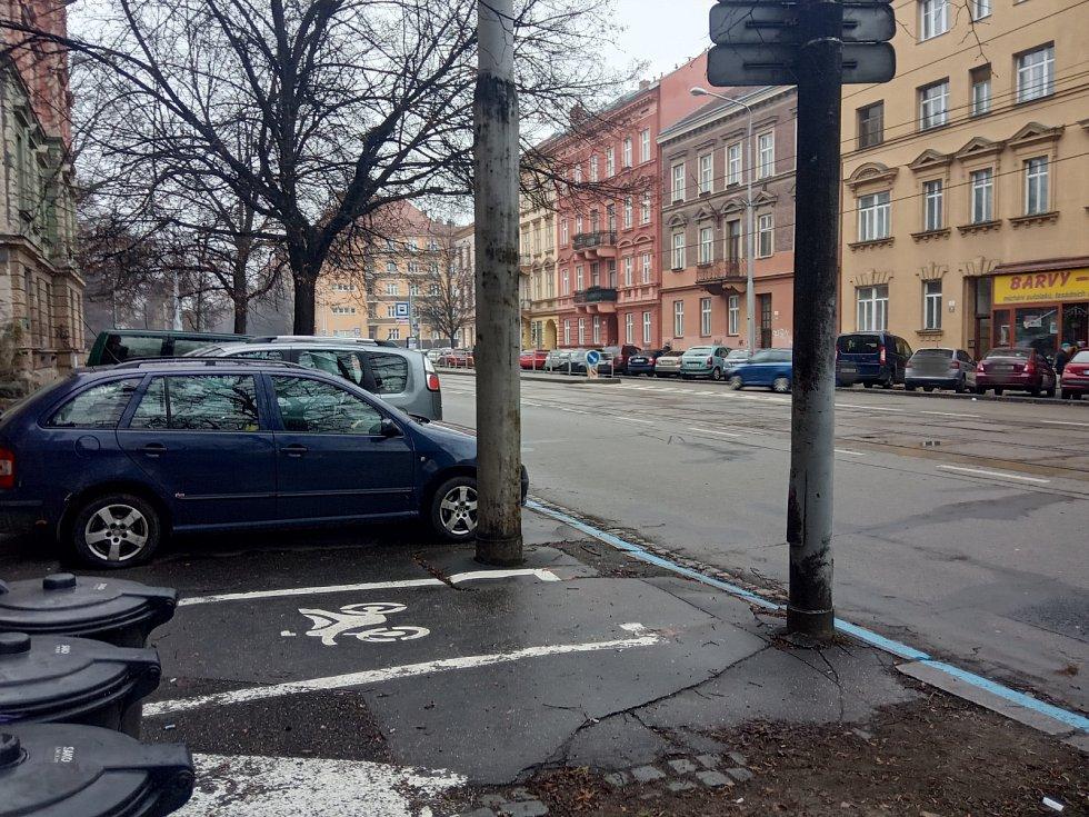 Ulice Štefánikova, Královo Pole.