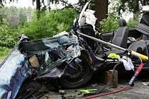 Čtvrteční dopravní nehoda mezi Soběšicemi a Útechovem skončila tragicky.