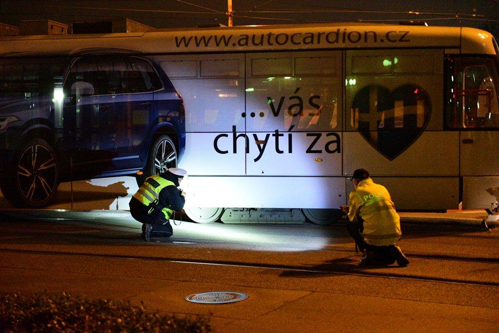 Nehoda dvou tramvají v brněnské ulici Nové sady se neobešla bez zranění.