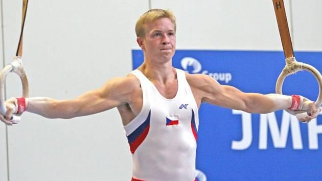 Gymnasta Martin Konečný