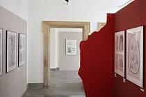 Nové výstavní prostory sálu Karla Valocha včera slavnostně otevřeli ředitel Moravského zemského muzea Martin Reissner a vedoucí Anthroposu Martin Oliva