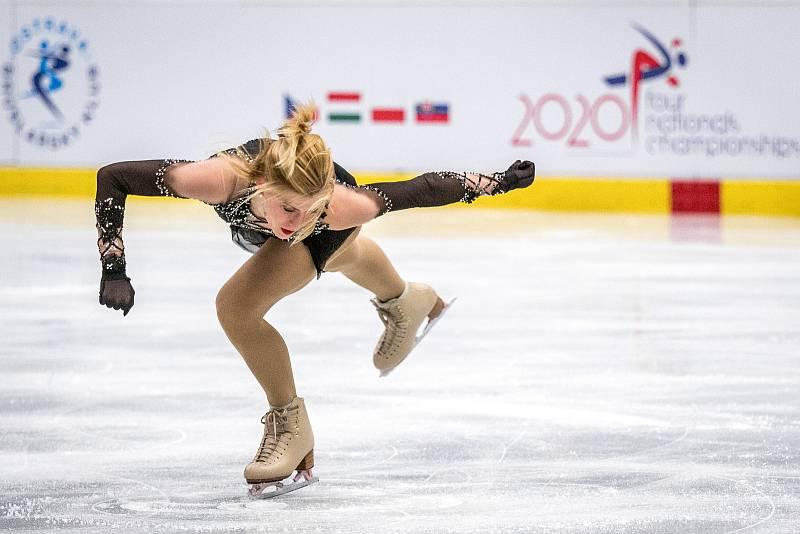 Eliška Březinová se chystá na olympiádu v Pekingu.