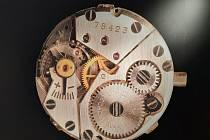 Výstava hodinek v Technickém muzeu v Brně.