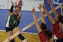 Královopolské volejbalistky v duelu s Frýdkem-Místek padly 0:3 na sety.