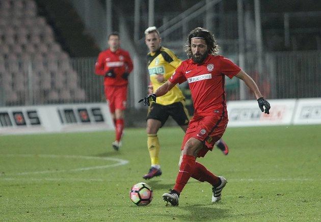 Fotbalisté Zbrojovky v posledním podzimním utkání nejvyšší soutěže remizovali na domácím trávníku s Karvinou 1:1.