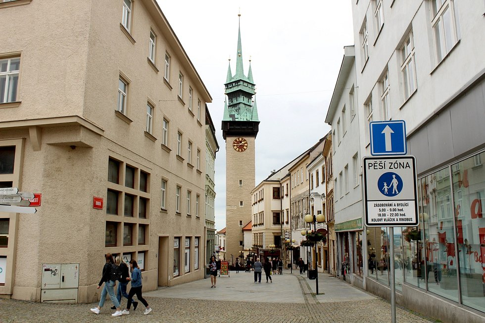 Radniční věž ve Znojmě.