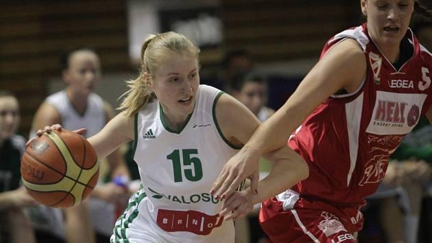 Basketbalistka Beáta Adamcová.