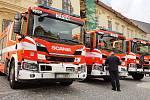 Brno 4.10.2019 - oslavy 155 let brněnských profesionálních hasičů