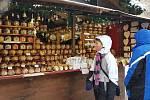 Vánoční trhy v Brně.