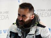 Bývalý bobista Roman Gomola v zóně Deníku na Olympijském festivalu v Brně.