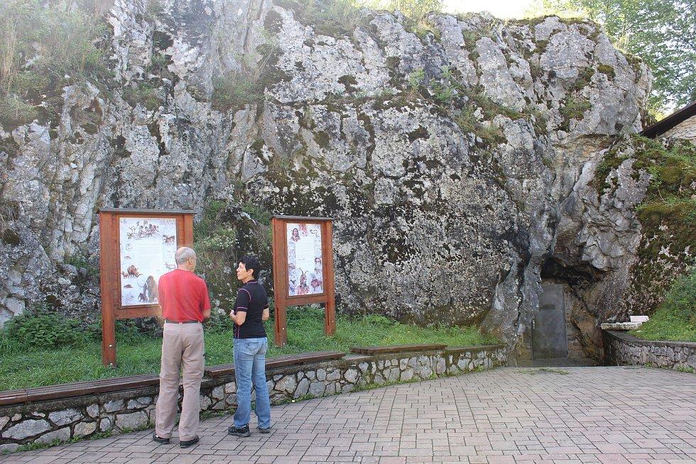 Jeskyně Balcarka v Moravském krasu.