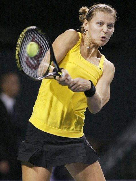 Lucie Šafářová na zářijovém turnaji v Tokiu.