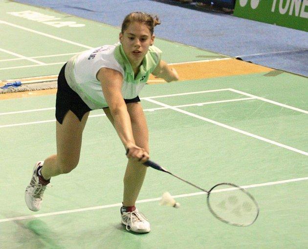 Kristina Ludíková postoupila do čtvrtfinále dvouhry v badmintonu.