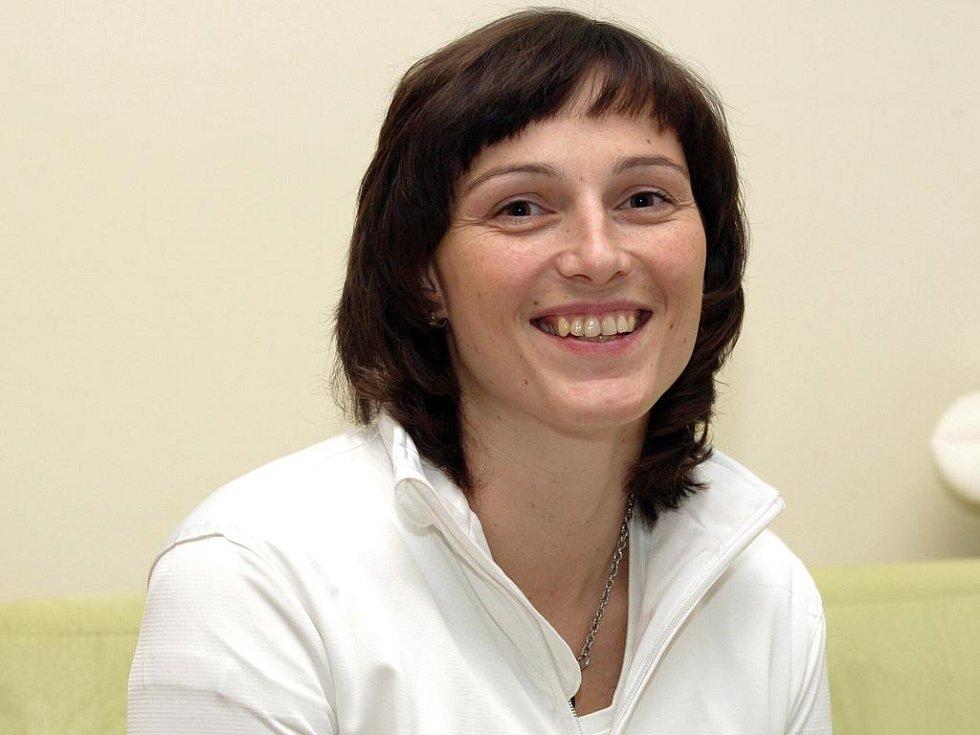Trenérka Veronika Wiednerová.