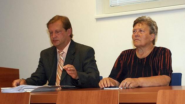 Soud s Dagmar Hrubou v kauze Wilson.