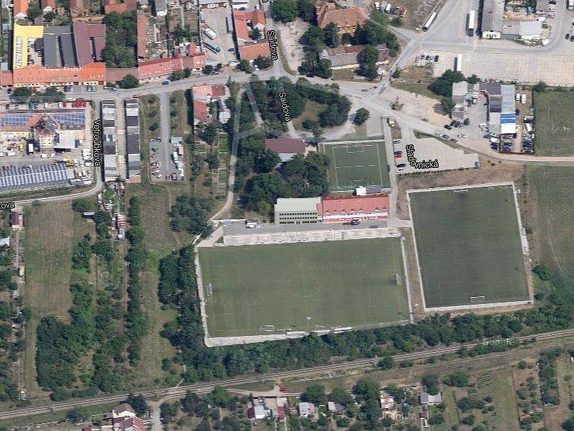 Tréninkové centrum mládeže v Brněnských Ivanovicích.