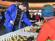Brno 15.02.2018 - Olympijský festival v areálu brněnského výstaviště - šachysta David Navara.