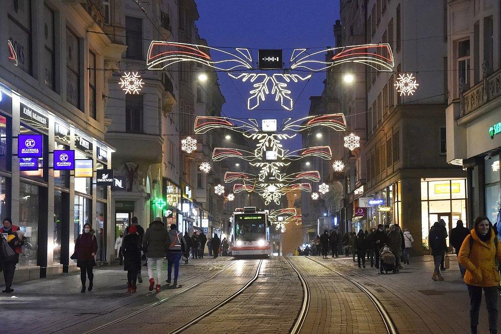 Brno 27.11.2020 - Masarykova