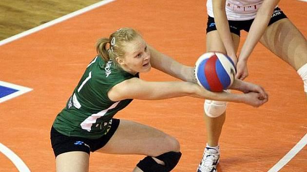 Volejbalistka Šárka Melichárková.