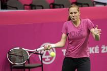 Nicole Vaidišová při tréninku