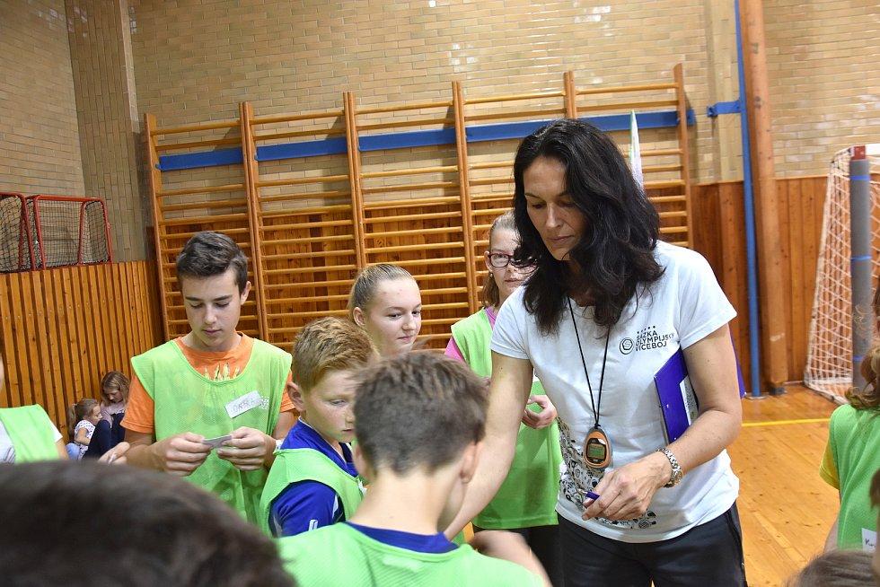 Bývalá atletka Šárka Kašpárková.