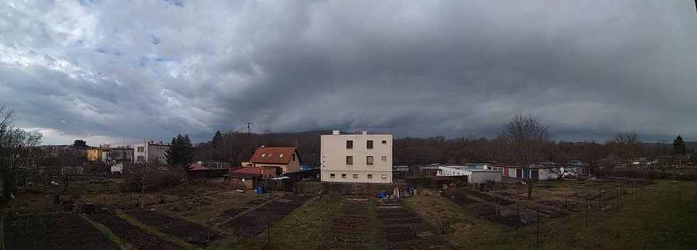 Situace v Kuřimi.