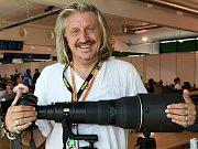 Italský sportovní fotograf Mirco Lazzari