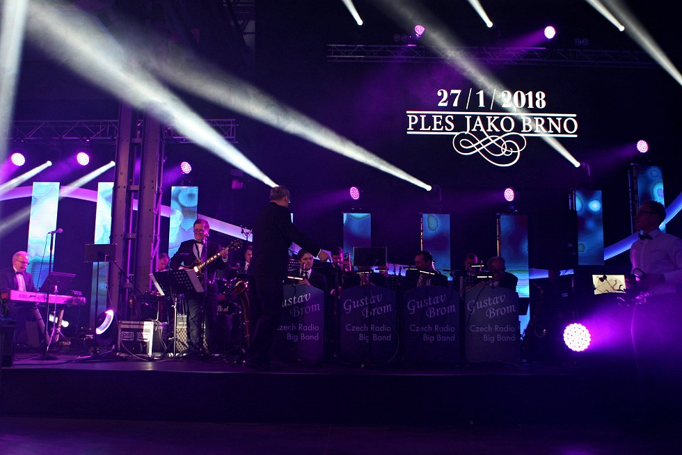 Loňský ročník Plesu jako Brno.