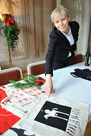 Suvenýry pro brněnské vánoční trhy.