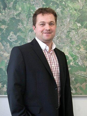 Regionální šéf CTP Tomáš Budař.