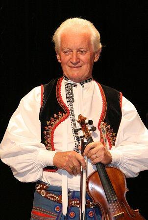 Horňácký primáš Martin Hrbáč.