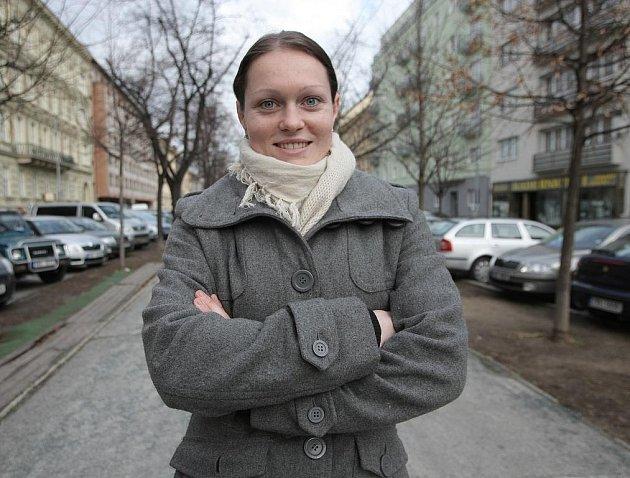 Zápasnická naděje pro olympiádu Lenka Martináková.