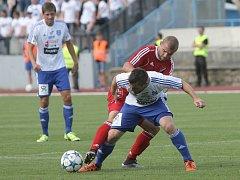 Fotbalisté Znojma ve šlágru remizovali s Baníkem Ostrava 1:1.