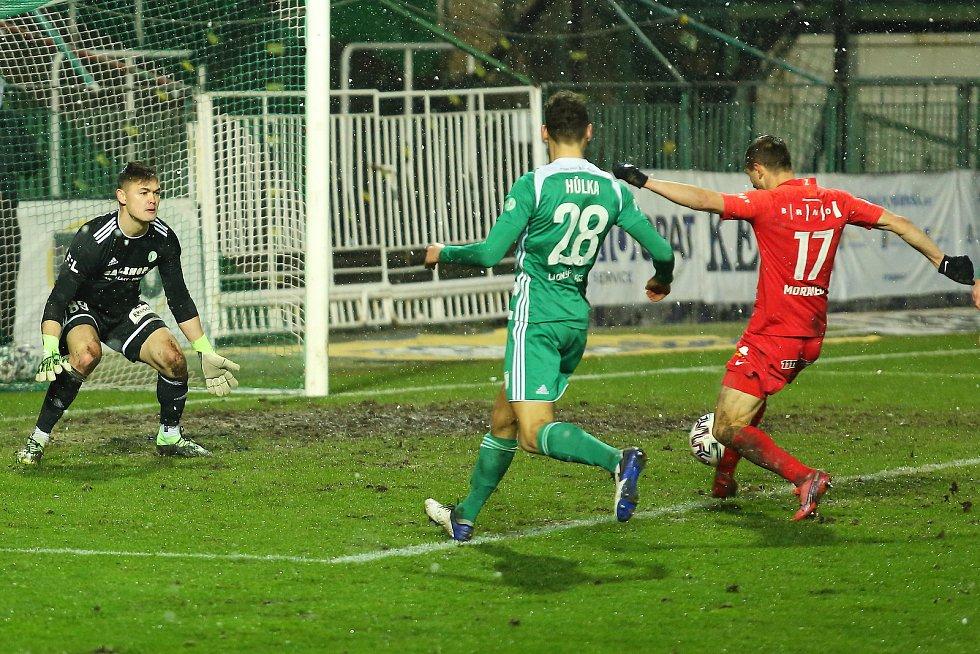 Fotbalisté Zbrojovky prohráli 1:2 na hřišti Bohemians 1905.